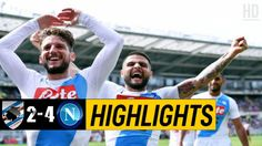 The Football Match Between Sampdoria vs Napoli. After a Very High-Class Performance by Napoli, The Final Result of The Game is Sampdoria Napoli. Watch Football, Football Match, Italian League, Match Highlights, Baseball Cards, Sports, Hs Sports, Sport