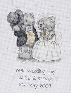 Tatty Teddy Our Wedding Day