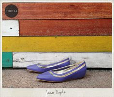 Nortia Flirty Lunar Purple visit www.nortia.shoes #fashion #street #smartlooks #leathershoes