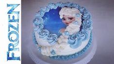 Frozen - Elsa die Eiskönigin Torte