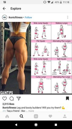 Muscle Building Workout Program – The Best Workouts Programs Muskelaufbau-Trainingsprogramm – Die besten Trainingsprogramme Leg Butt Workout, Gym Workout Tips, Fitness Workouts, Fun Workouts, At Home Workouts, Workout Routines, Muscular Legs Workout, Thunder Thigh Workout, Bigger Buttocks Workout