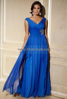 royal blue bridesmaid dresses....love the style