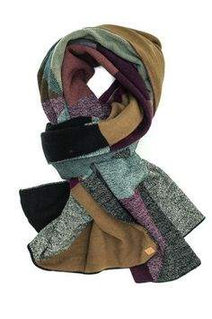 Patricia Grape Scarf