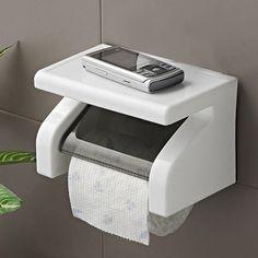 Incroyable Durable accessoires de salle de tissu de support de papier de toilette en acier inoxydable support de papier rouleau de support de boîte dans Supports à papier de Maison & Jardin sur AliExpress.com | Alibaba Group