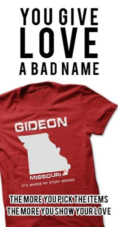 If YOU were born, grew up, or lived in Gideon, Missouri then YOU remember, believe its where YOUR STORY begins! These T-Shirts and Hoodies are perfect for you! Get yours now and wear it proud!