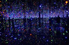 Yayoi Kusama - Infinity Mirrored Room – Filled with the Brilliance of Life (2011) - [Tate Modern]