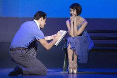 An American in Paris--the new Broadway show that is truly a work of art.  Love it!!!