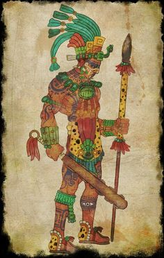 Maya warrior by on DeviantArt Mayan Tattoos, Aztec Symbols, Aztec Tattoo Designs, Maya Civilization, Aztec Culture, Aztec Calendar, Aztec Warrior, Inka, Mexico Art