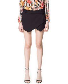 MINI SKORT - Skirts - Woman - New collection | ZARA Philippines