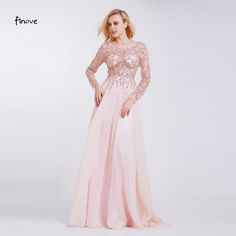 $131.63 - Awesome Formal Evening Dresses 2017 Boat Neck Long Sleeve Crystal Beading By Hand See-through Prom Dresses Robe de Soiree - Buy it Now!
