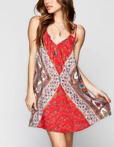 Sassy Boho Slip Dress