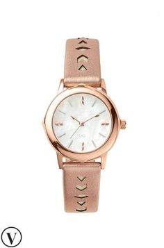 Change your watch with your mood with the Icon Convertible Watch in Rose Gold. Shiny rose gold and silver bezels included by Stella & Dot.