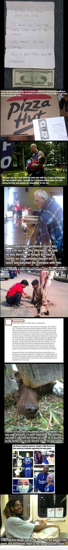 Real-life Karma. Faith in humanity restored