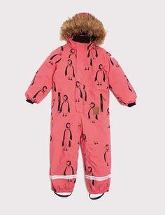 mini rodini - Expedition Alaska overall, pink