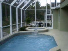 Mini enclosed pool Small Indoor Pool, Outdoor Ideas, Outdoor Decor, Backyard Ponds, Dream Pools, Secret Gardens, Splish Splash, Pool Houses, Pool Ideas