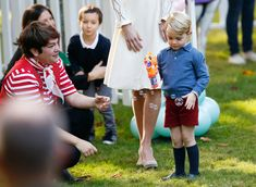 Britain's Prince George plays with a bubble gun at a children's party at Government House in Victoria, British Columbia, Canada, September 29, 2016. REUTERS/Chris Wattie via @AOL_Lifestyle Read more: http://www.aol.com/article/2016/09/29/prince-george-and-princess-charlotte-attend-a-party-in-canada/21483423/?a_dgi=aolshare_pinterest#fullscreen