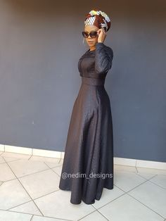 Long African Dresses, African Print Dresses, African Fashion, Women's Fashion, Maxi Dresses, Formal, Outfits, Clothes, Black