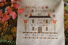 At Brigitte's Place: cross stitch