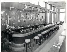 Calcutta Bar at the Diplomat in the 1950's
