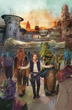 Star Wars: Galaxy's Edge – Marvel Issue 1 Cover Art by Rod Reis Star Wars Poster, Star Wars Art, Star Wars Comics, Marvel Comics, Star Wars Celebration, Star Wars Wallpaper, Original Trilogy, Graphic Artwork, Star Wars Episodes