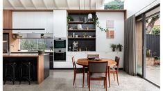 Olivier Rasir's 'Wild Man Dreaming' - The Design Files Australian Architecture, Australian Homes, Architecture Awards, Interior Architecture, Interior Design, Apartment Backyard, Sliding Door Panels, Cedar Cladding, The Design Files