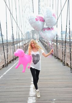 Someone's excited about our new Kings Plaza store in Brooklyn! #VSPINK #MiniDog #NYCLove