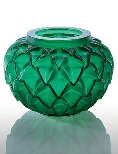 """Hommage à René Lalique, """"Languedoc"""" vase"""