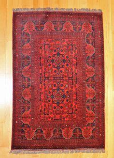 Khal Mah Afghan Tribal Rug TAN80022879 Afghanistan