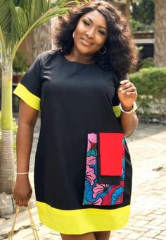 Top 50 Ankara Dress Styles of All Time - Fashion Gang African Dresses For Kids, Latest African Fashion Dresses, African Dresses For Women, African Print Dresses, African Attire, African Fashion Traditional, Ankara Short Gown Styles, Curvy Girl Outfits, Contemporary Fashion