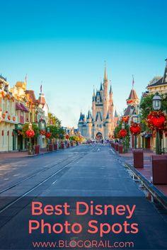 Best Disney Photo Spots - The Blogorail