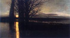 Stanisław Masłowski Polen - 1853 - 1926 - Moonrise 1884