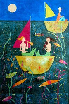 Two Mermaids © Barbara Olsen