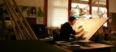 illustration work space ideas - Google Search
