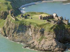 Dunnottar Castle, Scotland, a phenomenal position in the North Sea