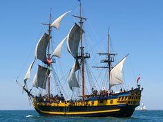 Etoile du Roy  Le second plus grand navire traditionnel français.