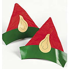 Elf Hats #christmas #partysupplies