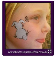 Face Painting a little bunny. ( A perfect Easter design) - Face Painting a little bunny. ( A perfect Easter design) - Bunny Face Paint, Easter Face Paint, Mime Face Paint, Girl Face Painting, Face Painting Designs, Painting For Kids, Paint Designs, Body Painting, Animal Face Paintings
