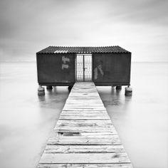 Long exposure photography. La manga del mar menor - Spain, 2010