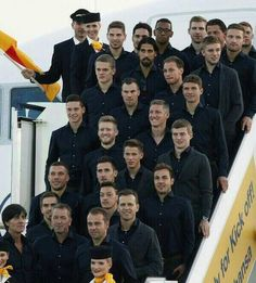 The boys who made it happen!  I'm so incredibly proud. I have been waiting for this since the last World Cup in 2010. This is dreams coming true. Miroslav Klose,  what a man. Germany deserves to win because of him.  Love and greetings too Germany. In 2018 we go for another win!♡