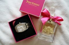Juicy Couture parfume and watch