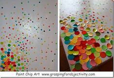 Paint Chip Art with Kids!