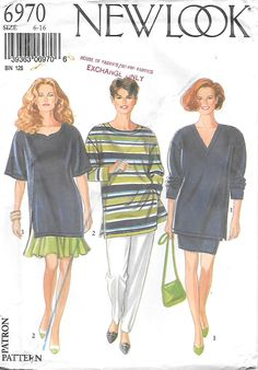 Vogue 7915 Loose-fit Jacket /& Pants in 2 Lengths Very Easy Sewing Pattern