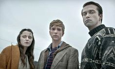 "Partially Deceased Syndrome sufferers Amy, Kieren and Simon in ""In The Flesh""  - BBC"