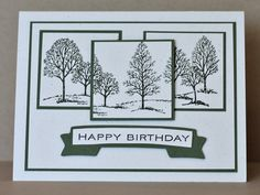 SC290- Have a TREE-mendous Birthday by Chautona - Cards and Paper Crafts at Splitcoaststampers