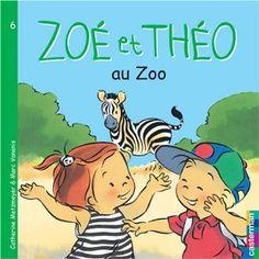 Zoé et Théo au zoo: Amazon.fr: Catherine Metzmeyer: Livres