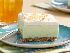 Carrés à la limette -----------------------------------------Savourez ce dessert délicieusement frais!
