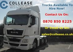 Collease Rentals (@colleaserentals) on Twitter Social Networks, Social Media, Business Look, Sale Promotion, New Trucks, Commercial Vehicle, New Trailers, Tractors, Digital Marketing