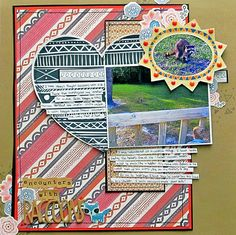 Ideas for Zentangle Tehniques on the Scrapbook Page | Christy Strickler | Get It Scrapped