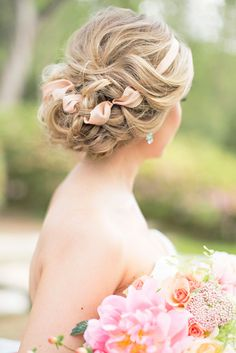 Splendid Wedding Updos Collection ❤ See more: http://www.weddingforward.com/wedding-updos/ #weddings #hairstyles