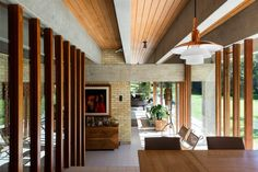 """The Ahm House by Jørn Utzon is quite an architectural masterpiece. """"Probably the best Modern house in the world"""" - architecture critic Hugh Pearman Interior Architecture, Interior And Exterior, Interior Design, Le Ranch, Jorn Utzon, Modernisme, Architect House, Mid Century House, Modern House Design"""